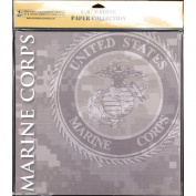 Uniformed Scrapbooks US Marine Paper Pack, 30cm x 30cm , 20/pkg