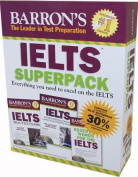 Barron's IELTS Superpack [With 2 Books and 5 CDs]