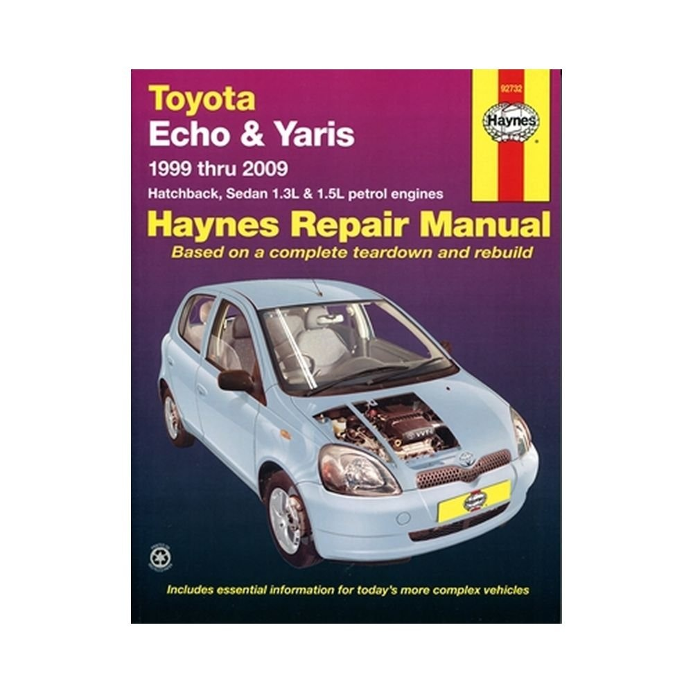 Toyota Echo & Yaris Service and Repair Manual, R M Jex - Shop Online for  Books in New Zealand