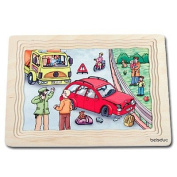 Beleduc Automotive Garage 5 Layer Puzzle