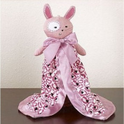 CoCaLo Plush Security Blanket - Pink Bunny