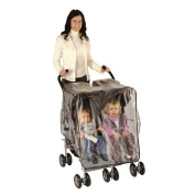 Especially for Baby Stroller Weather Shield - Side by Side