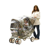 Especially for Baby Tandem Stroller Rain Cover