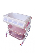 Baby Diego Bathinette Baby Bath & Changing Table Combo - Pink