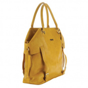 timi & leslie Charlie Convertible Nappy Bag - Mustard
