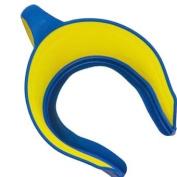 Splash Guard 2001 Lil Rinser Kids Shampoo Shield - Yellow-Blue