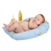 Leachco Safer Bather Infant Bath Pad - Blue Ducks