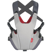 Phil & Teds Pepe Front Carrier - Grey/Red
