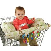 Leachco Organic Smart Prop 'R Shopper - Green/Brown Dot