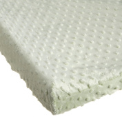 Carter's Super Soft Dot Changing Pad Cover- Sage