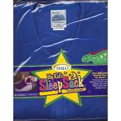 HALO Big Kids SleepSack Wearable Blanket in Fleece - Blue