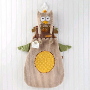 Baby Aspen 'My Little Night Owl' Snuggle Sack and Cap - Camel