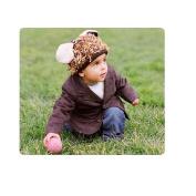 Mop Top Animal Hat- Puppy Love - Brown Multi -
