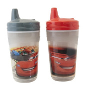 The First Years 2 Pack 270ml Insulated Sippy Cup, Cars/Pattern May Vary