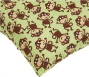 Carter's Easy-Fit Quilted Playard Sheet - Monkey