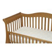 Sateen Crib Crib and Toddler Bed Mattress Pad