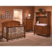 Westwood Design Jonesport Combo Hutch with Touchlight - Tuscan