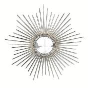 Glenna Jean Starburst Convex Mirror - Nickel