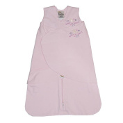 HALO SleepSack Swaddle Wearable Blanket in Cotton - Pink