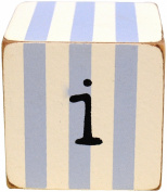 Blue Letter Block - 'i'