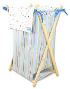 Trend Lab Dr. Seuss One Fish Two Fish Collapsible Hamper