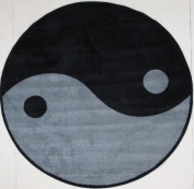 Fun Rugs Fun Time Shape FTS-152 Ying Yang Area Rug - Multicolor