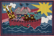 Fun Rugs Fun Time FT-104 Noah's Ark Area Rug - Multicolor