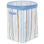 Little Boutique Collapsible Storage - Blue Stripe