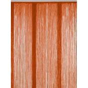Bacati Orange String Curtain Panel