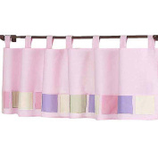 JoJo Designs Pink and Purple Butterfly Collection Window Valance