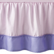 JoJo Designs Butterfly Collection Toddler Bed Skirt - Pink and Purple