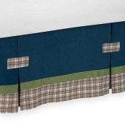 JoJo Designs Construction Zone Collection Toddler Bed Skirt