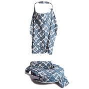 My Brest Friend Nursing Pillow & Nursing Cover Gift Set - Diamond Sky