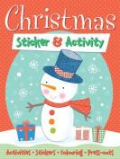 Christmas Sticker & Activity