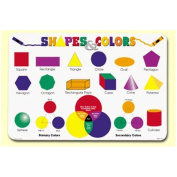 Painless Learning Shapes and Colours Placemat