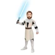 Star Wars Clone Wars Obi-Wan Kenobi Child Halloween Costume - Size Large