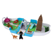 Smurfs Escape From New York 5.1cm 1 Deluxe Playset