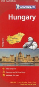 Michelin Hungary Road and Tourist Map