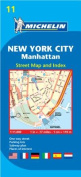 Michelin New York City Manhattan Street Map and Index