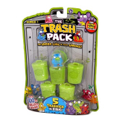 """The Trash Pack - """"Trashies"""" 5 Pack Collectible Figures"""