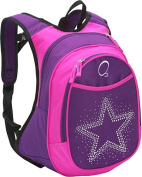 O3 Kids Pre-School Star Backpack with Integrated Lunch Cooler