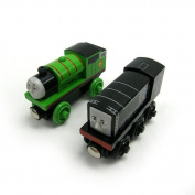 Thomas & Friends Wooden Railway Percy and Diesel