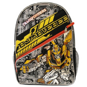 Transformers Backpack - Bumblebee Silver and Yellow