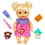 Baby Alive Baby's New Teeth Doll - Blonde