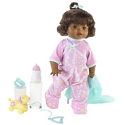 Fisher-Price Little Mommy Walk & Giggle Doll - African American