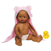 Fisher-Price Little Mommy Baby's Big Day Time for Bath Doll  - African American