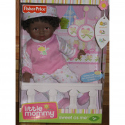 Fisher-Price Little Mommy Sweet As Me 36cm Doll - African American