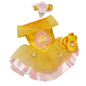 Disney Princess & Me Ballet Doll Outfit and Toe Shoes - Belle