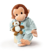 Russ Berrie Curious George In Pyjamas 30cm Plush