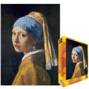 The Girl with a Pearl Earring by Vermeer Jigsaw Puzzle, 1000 pieces Eurographics